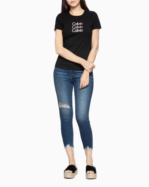 CALVIN KLEIN REPEATING LOGO 티셔츠