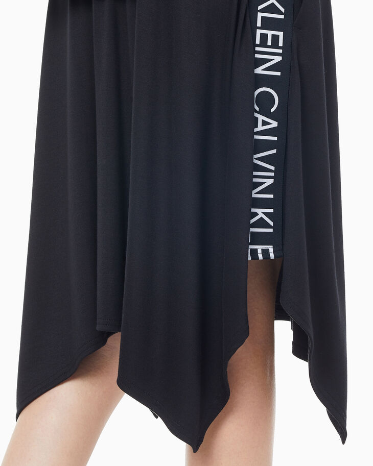 CALVIN KLEIN ACTIVE ICON LOGO TAPE SKIRT