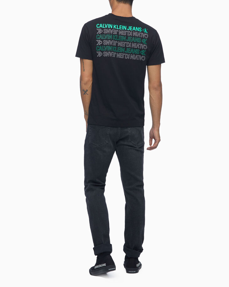 CALVIN KLEIN ORGANIC COTTON REPEAT LOGO TEE