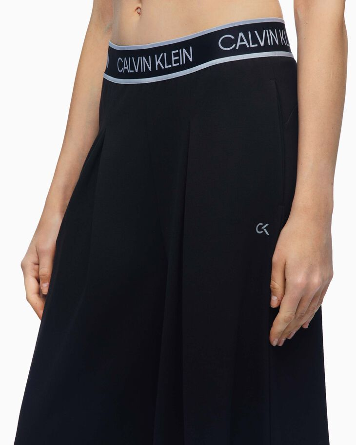 CALVIN KLEIN ACTIVE ICON CULOTTES WITH PLEATS