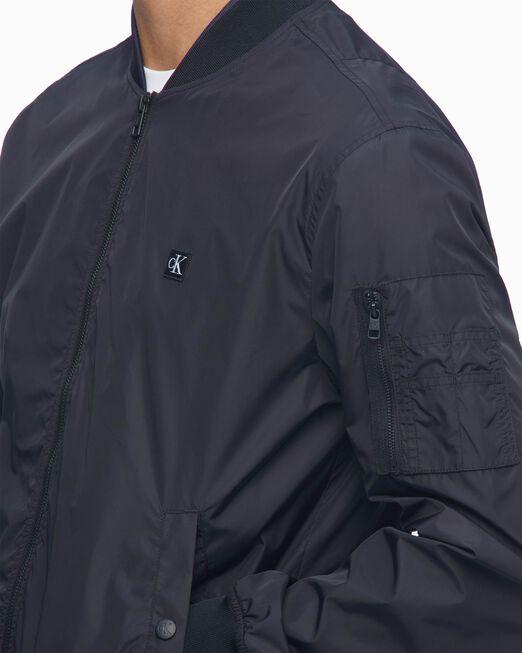 CALVIN KLEIN 남성 나일론 보머 재킷