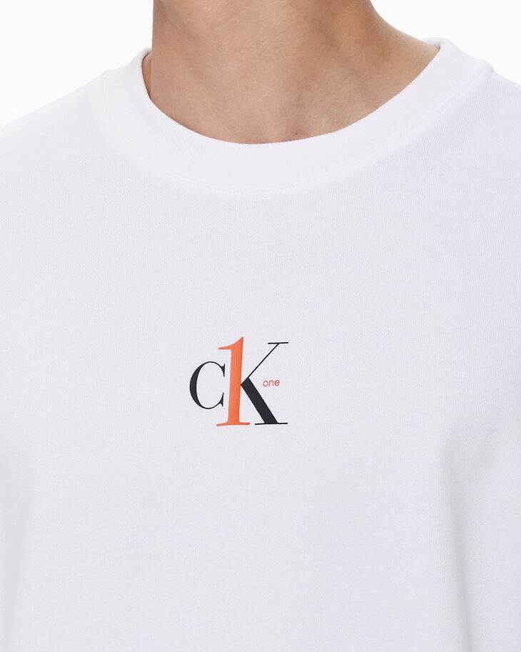 CALVIN KLEIN CK ONE RELAXED FIT SWEATSHIRT