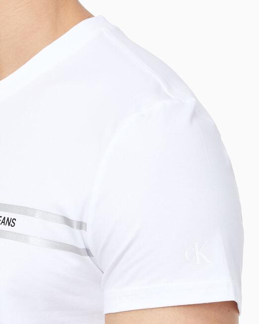 CALVIN KLEIN 남성 슬림핏 인스티튜셔널 반팔 티셔츠
