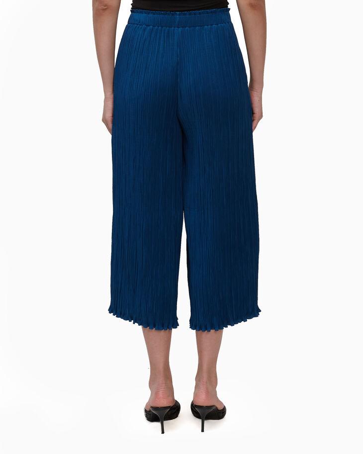 CALVIN KLEIN BROOMSTICK PLEAT PANTS