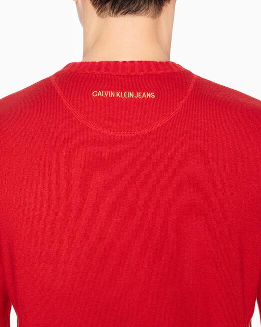 CALVIN KLEIN CNY CAPSULE CASHMERE PULLOVER