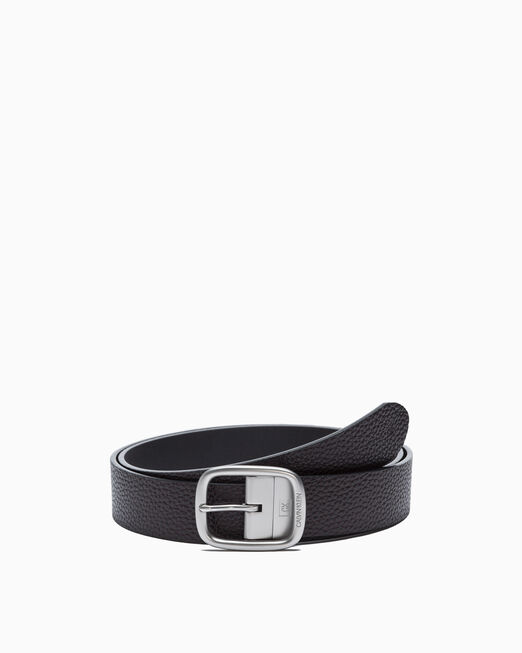 CALVIN KLEIN REVERSIBLE LOGO BELT 37MM