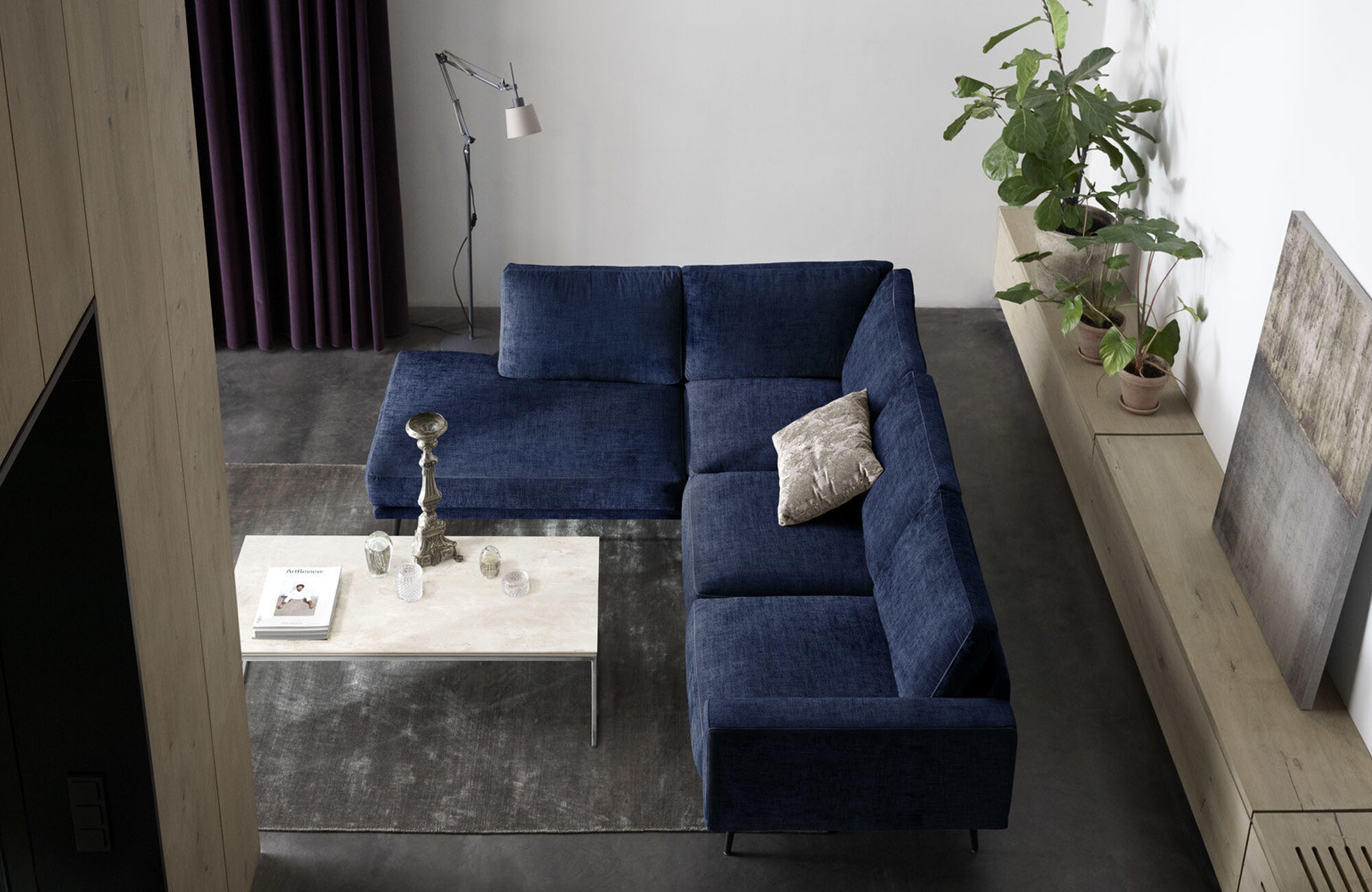 Coastal blue - Carlton sofa