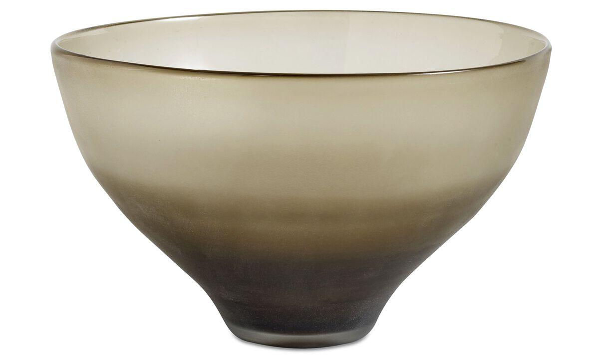 Decoration - Smoke bowl - Grey - Glass
