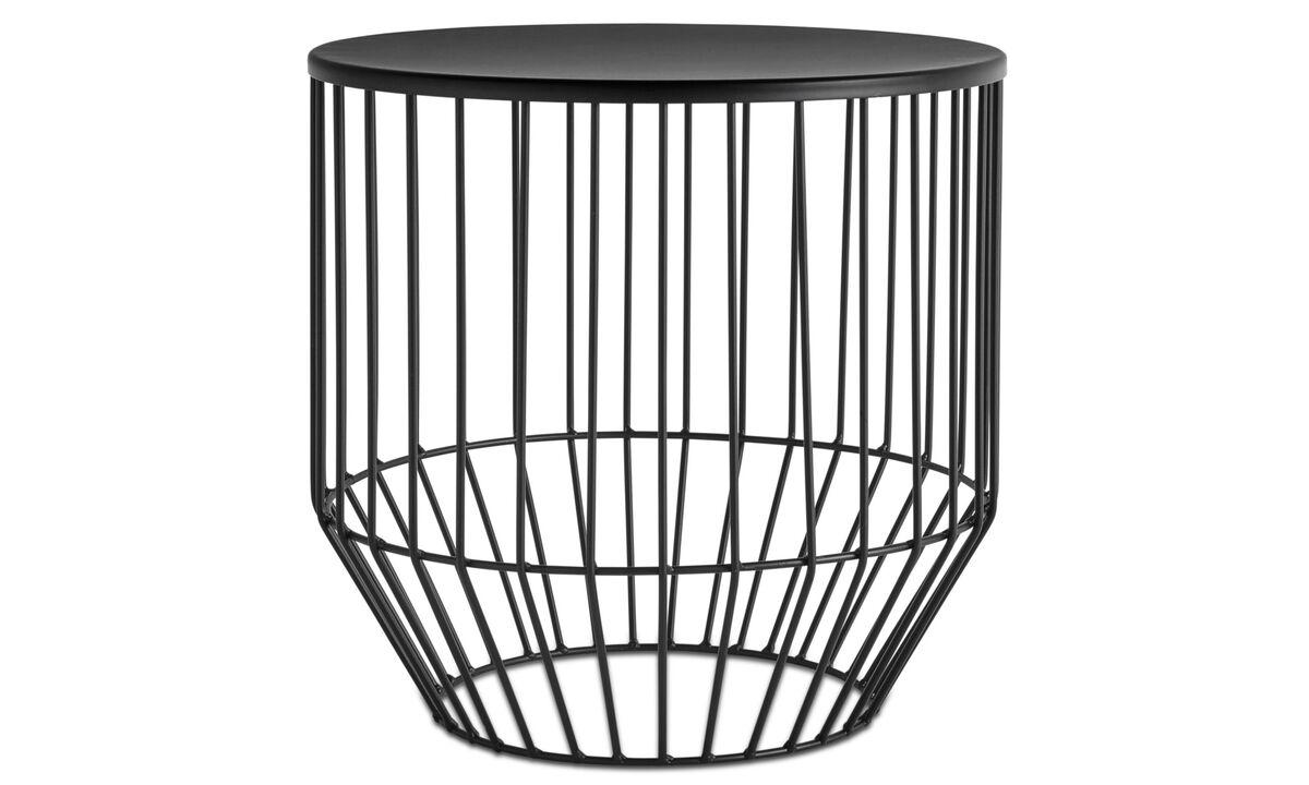 Stoličky - Stolička Wire - Černá - Kov