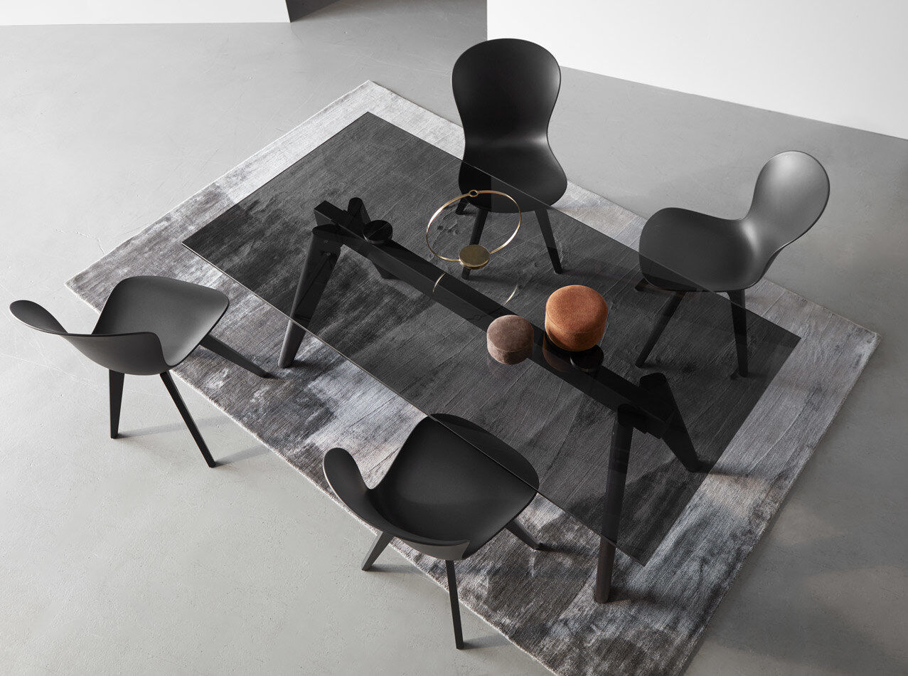 Dining tables - Monza table with supplementary tabletops