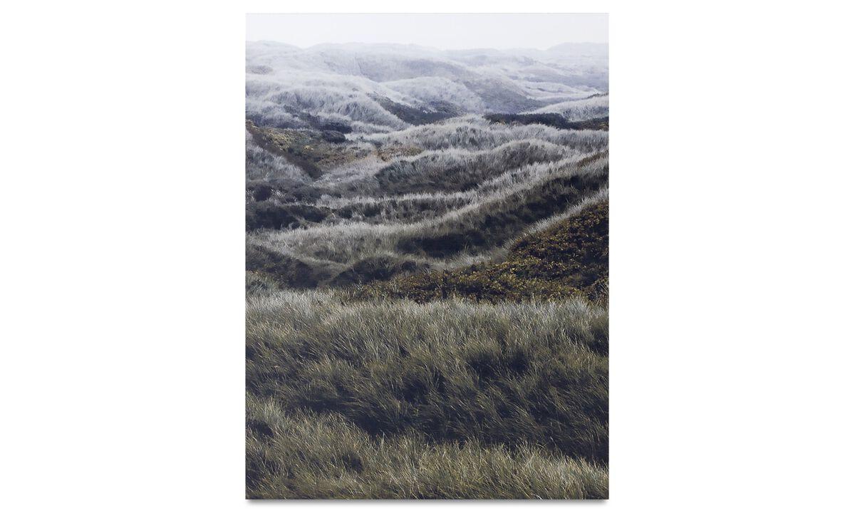 Gallery - North sea hills metal print - Metal