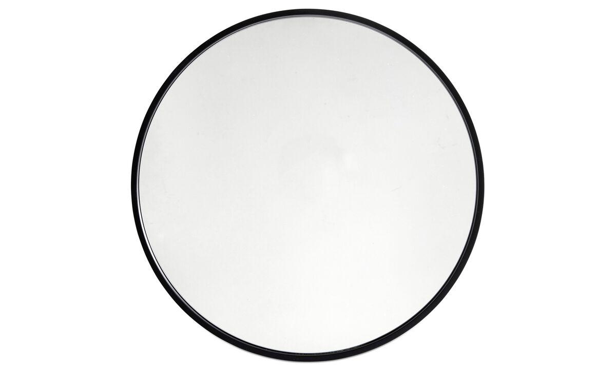 Zrcadla - Zrcadlo Ring - Černá - Sklo