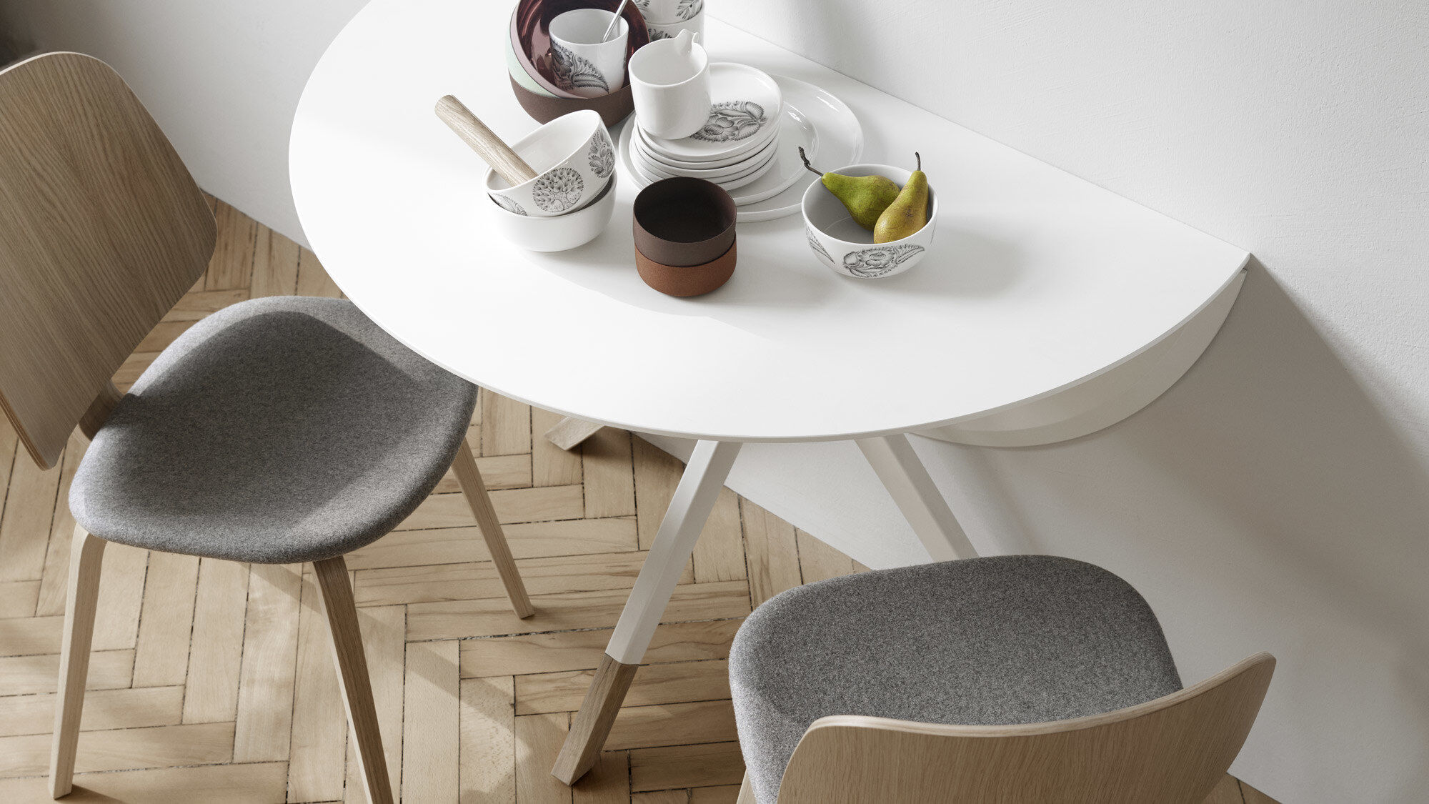 Extendable dining tables - Billund table