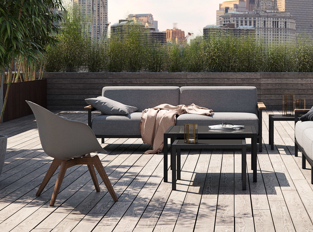 Outdoor lounge furniture - Adelaide Lounge chair (for in- and outdoor use)