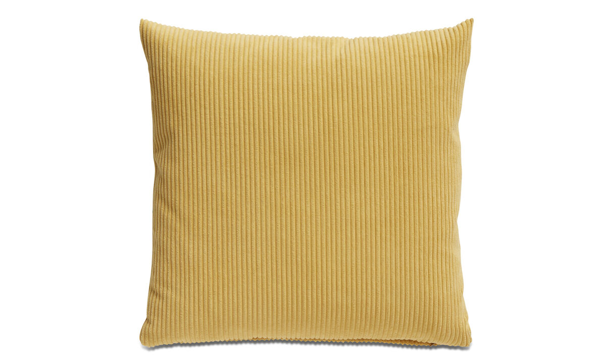 Cushions - Cord cushion - Yellow - Fabric