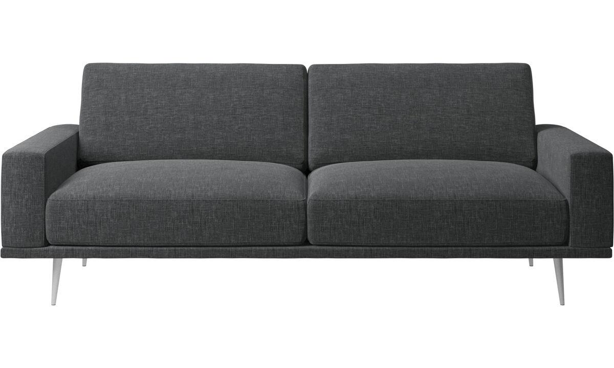 2,5-местные диваны - Диван Carlton - Серого цвета - Tкань