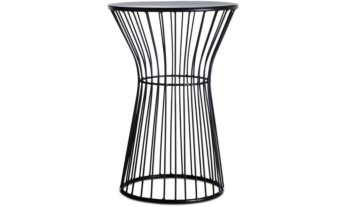 Bancos - Banco Wire - Preto - Metal