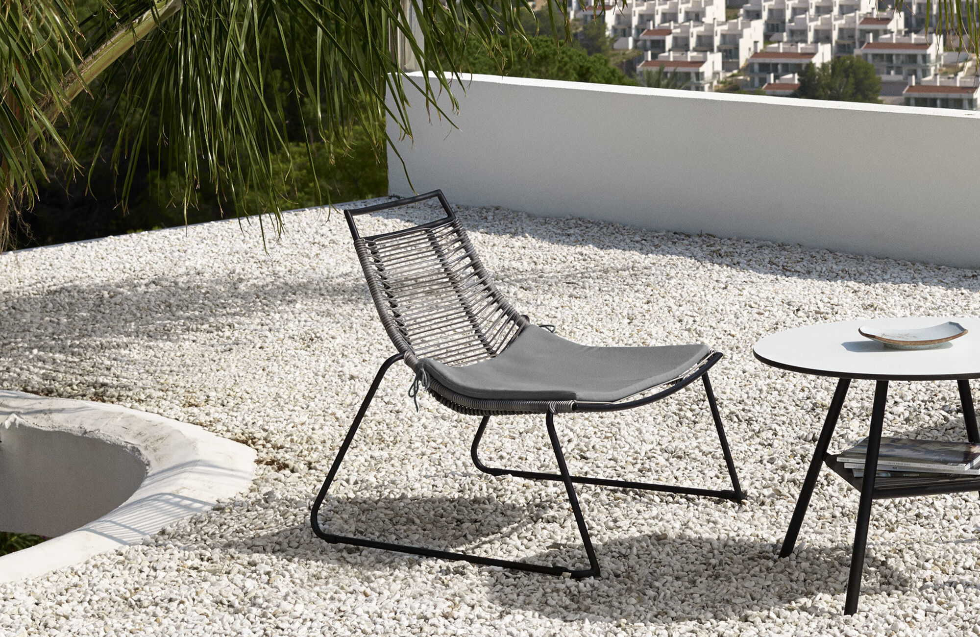 Outdoor dining furniture - Elba chair (for in and outdoor use)