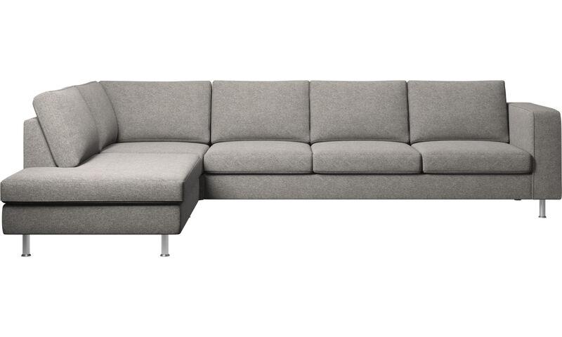 Corner Sofas - Indivi Corner Sofa With Lounging Unit - BoConcept