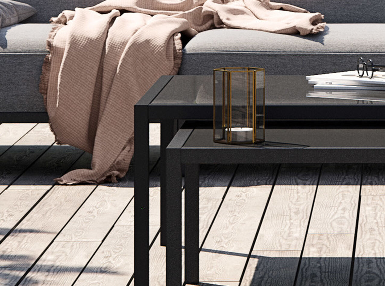 Outdoor lounge furniture - Rome coffee table