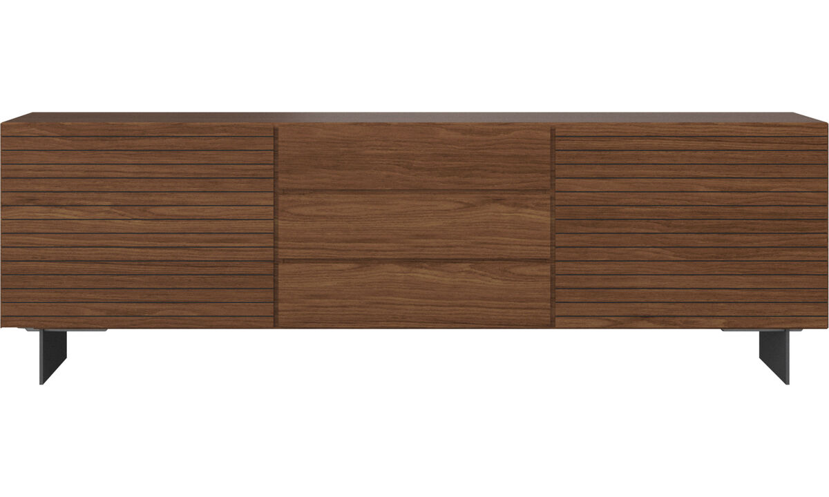 Sideboards - Lugano sideboard - Brown - Walnut