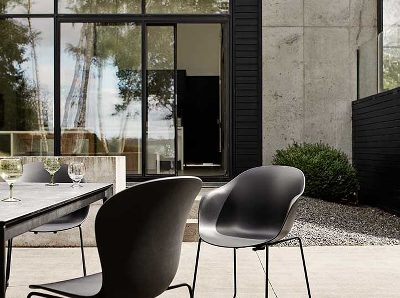 Outdoor dining furniture - Adelaide chair (for in- and outdoor use)