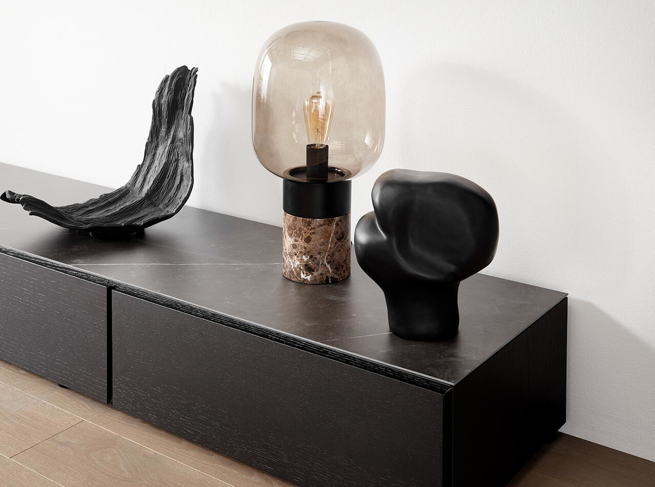 Lamps - Pine cone table lamp