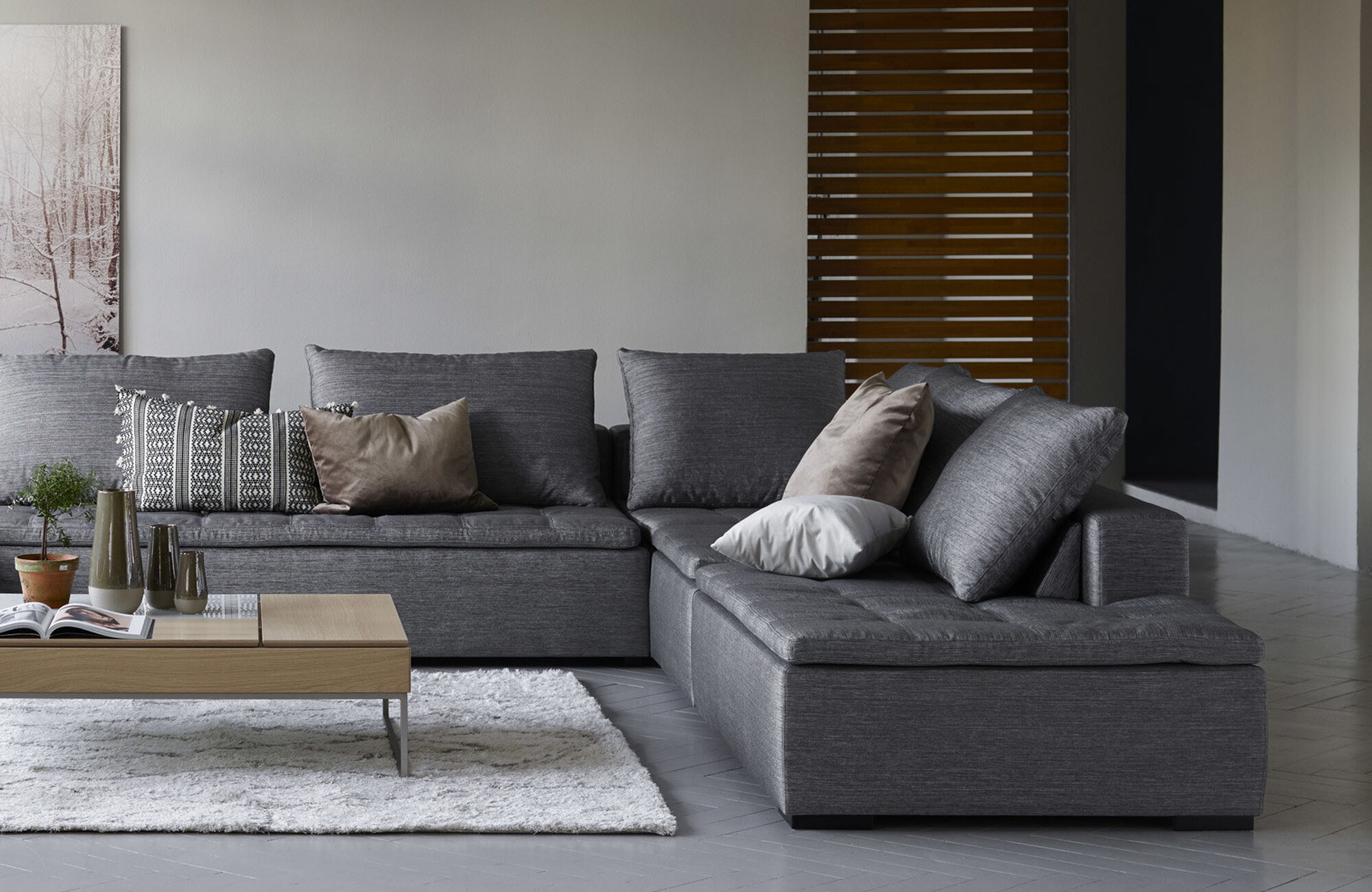 Chaise lounge sofas - Mezzo sofa with resting unit