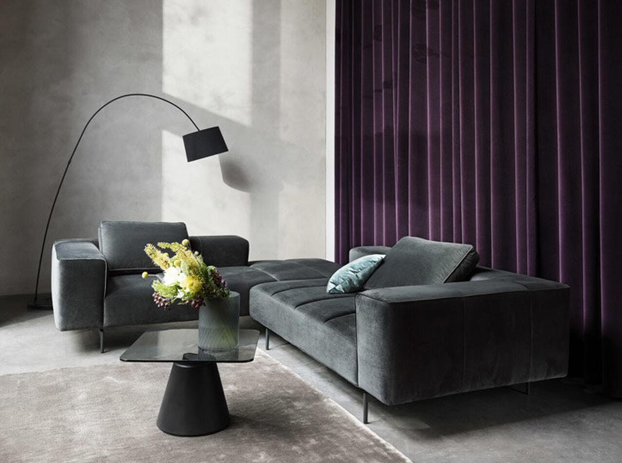 Modular sofas - Amsterdam corner sofa with lounging unit