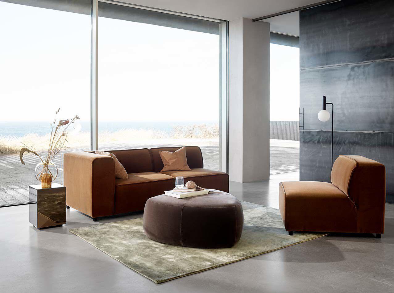 Small furniture - Block mirror table