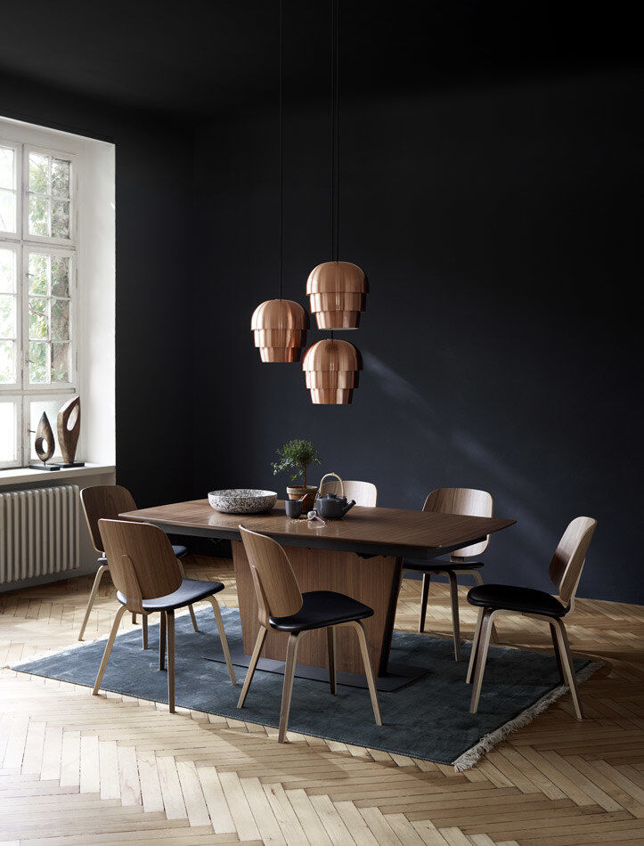 Förlängningsbara matbord Milano bord med iläggsskiva