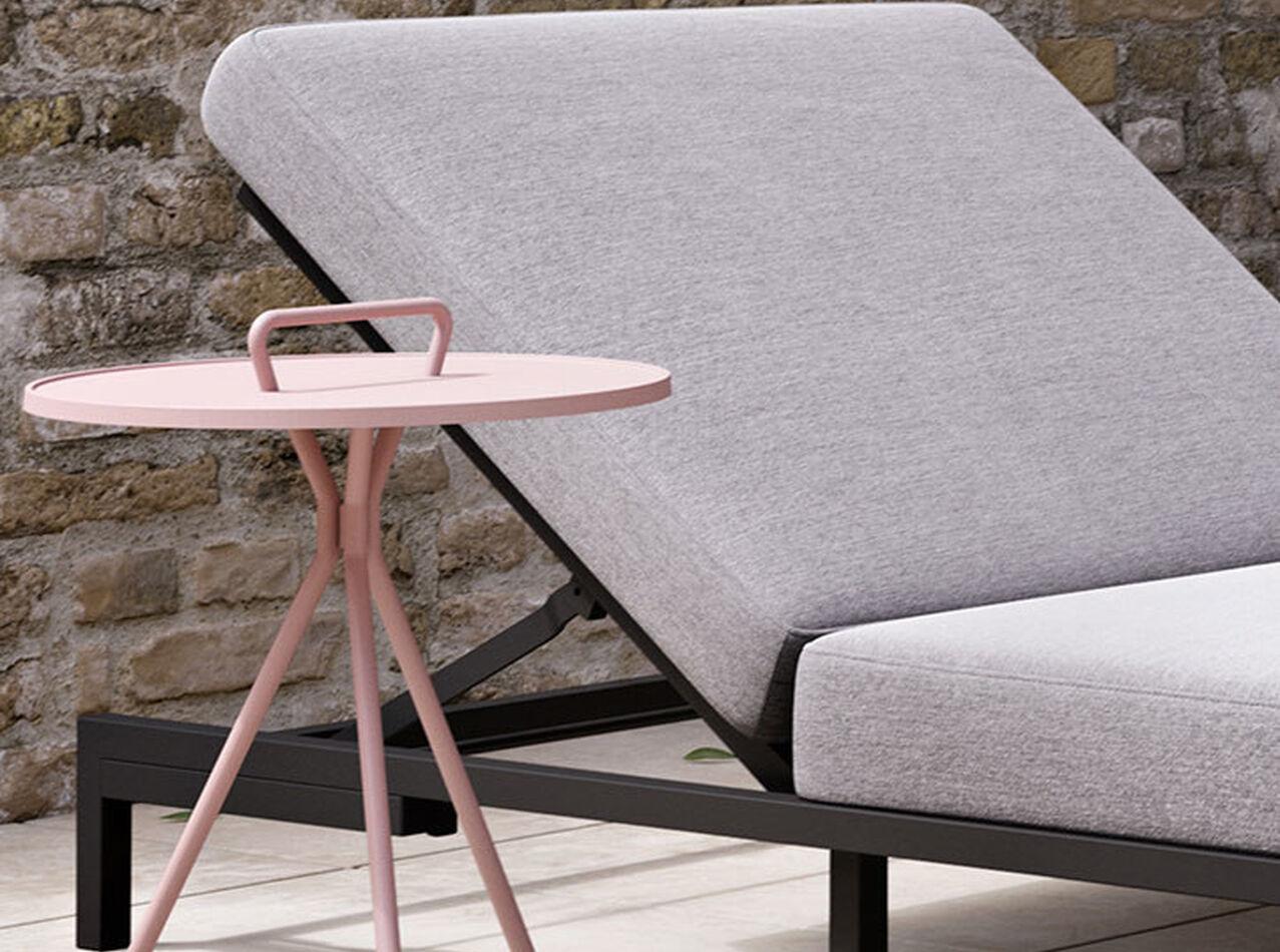 Muebles lounge de exteriores - Chaise-longue Rome sin reposabrazos