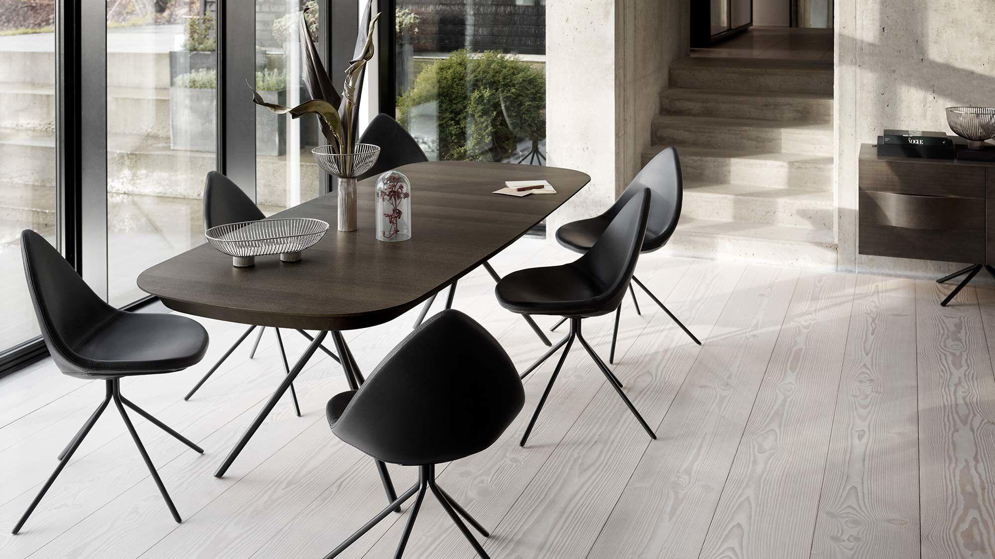 Extendable Dining Tables Ottawa Tavolo Con Piano Supplementare Boconcept