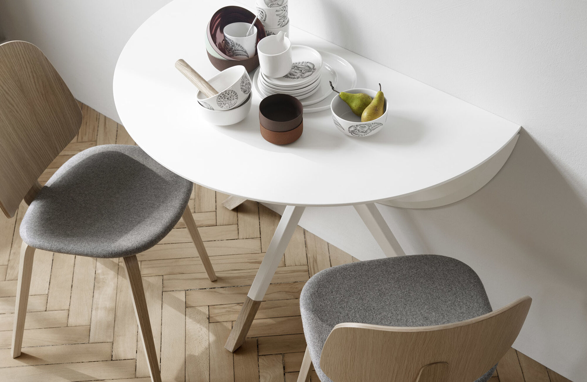 Tables de repas avec allonges - Table Billund