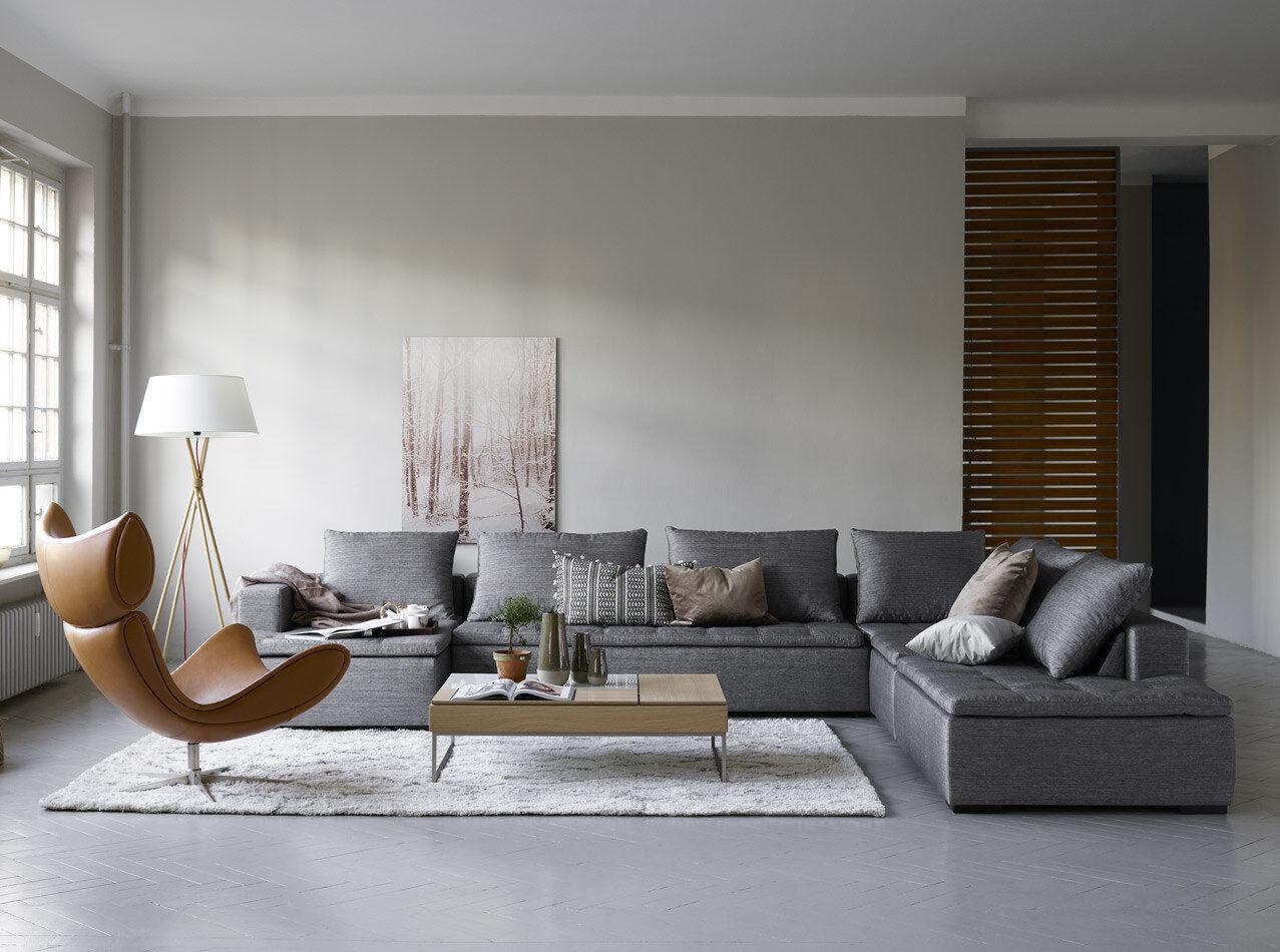 Chaise longue sofas - Mezzo sofa with resting unit