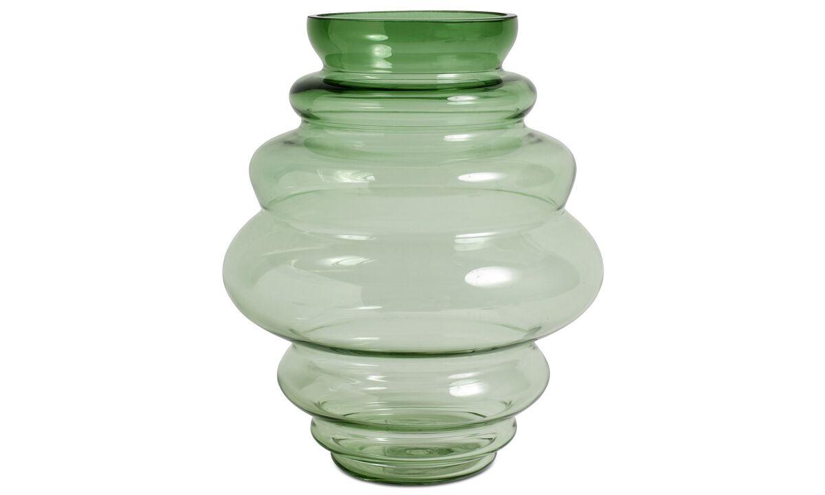 Vases - Viva vase - Green - Glass