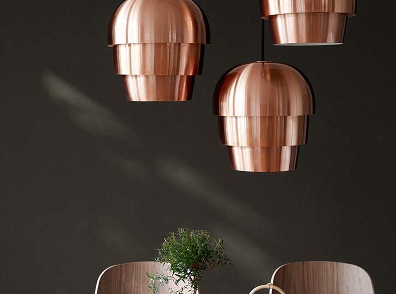 Lamps - Pine cone pendant