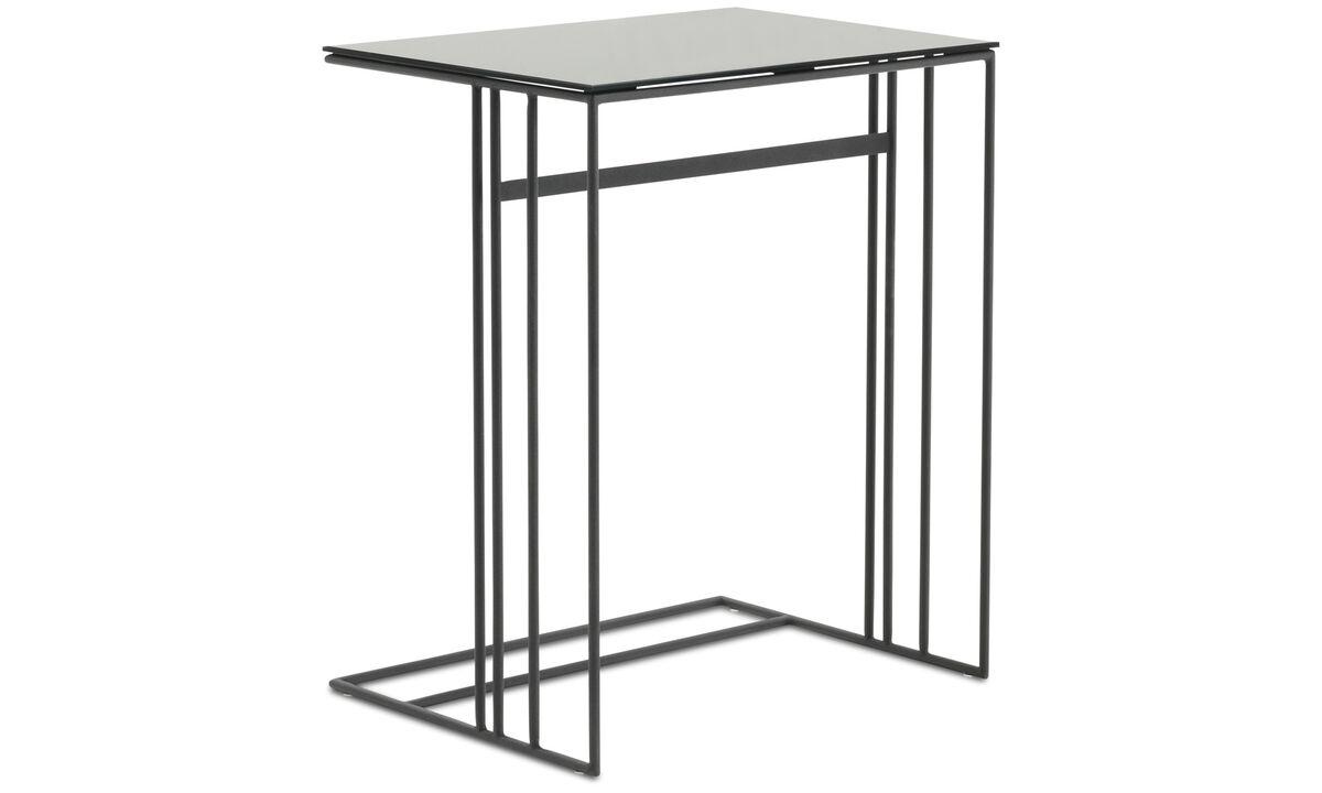 Small furniture - Alba side table - rectangular - Grey - Glass
