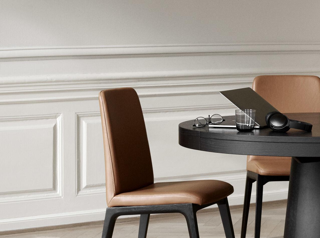 Mesas de comedor extensibles - Mesa Granada con tablero extensible