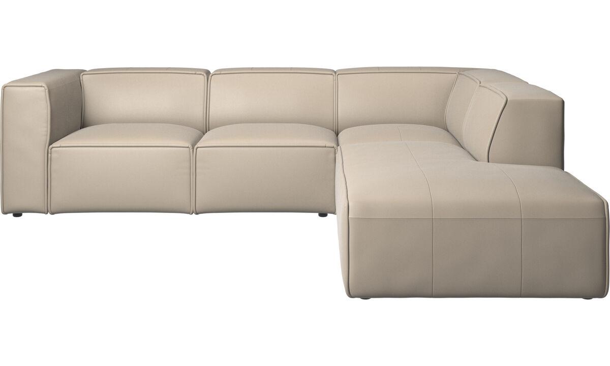 Modern Beige Leather designer Recliner sofas   BoConcept